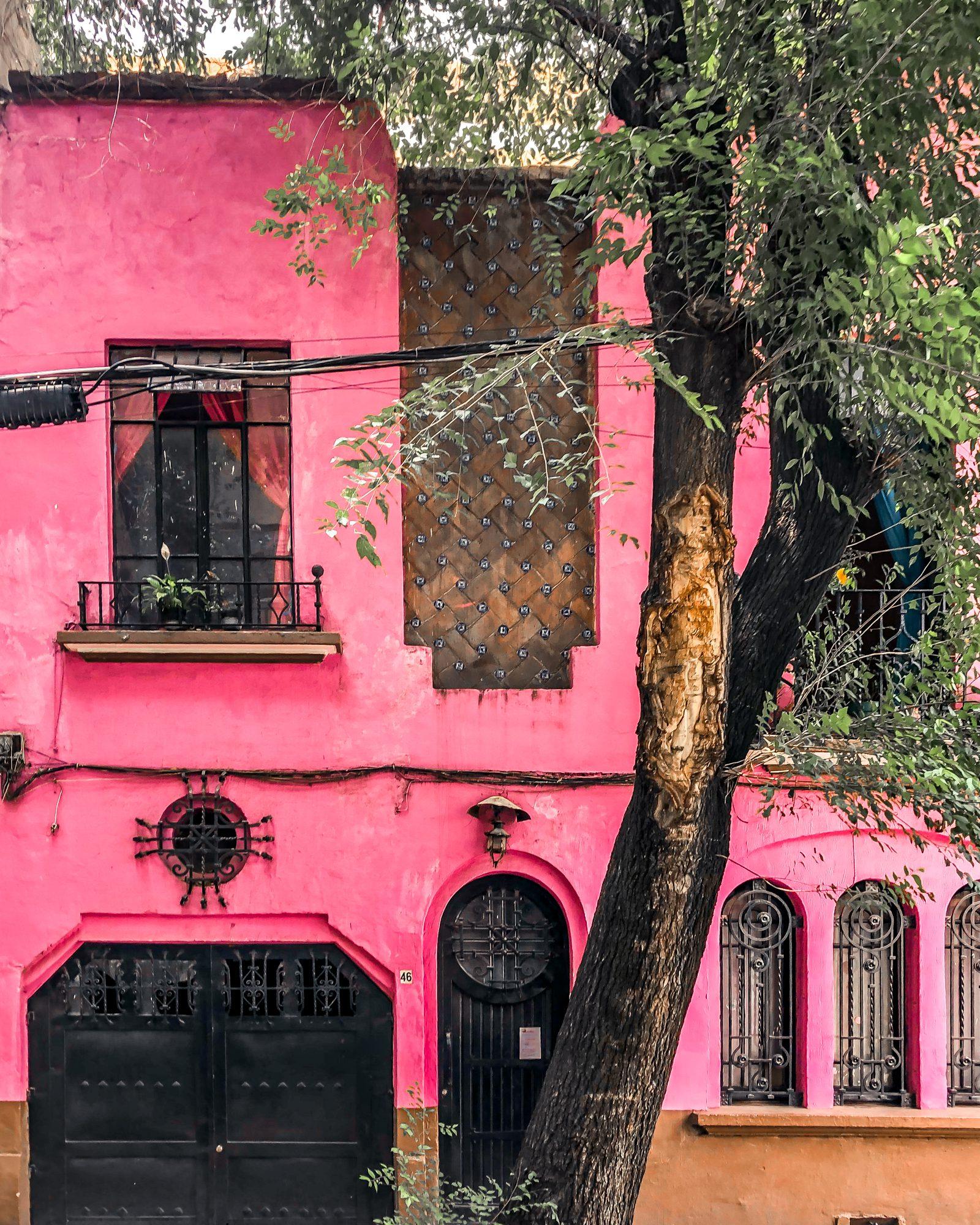 architecture in san rafael mexico city