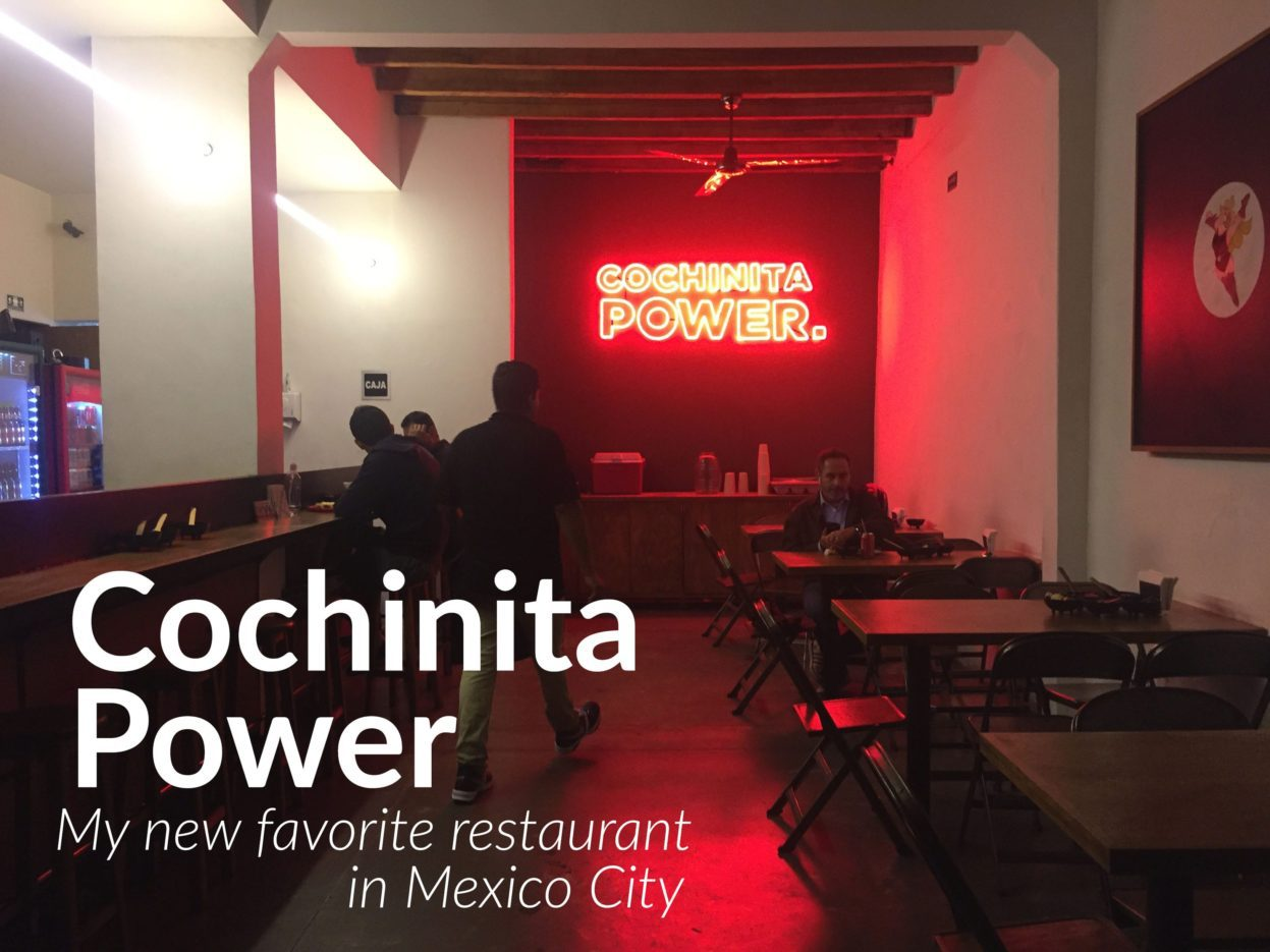 cochinita power restaurant mexico city