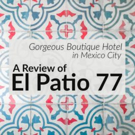 Gorgeous Boutique Hotel in Mexico City: A Review of El Patio 77