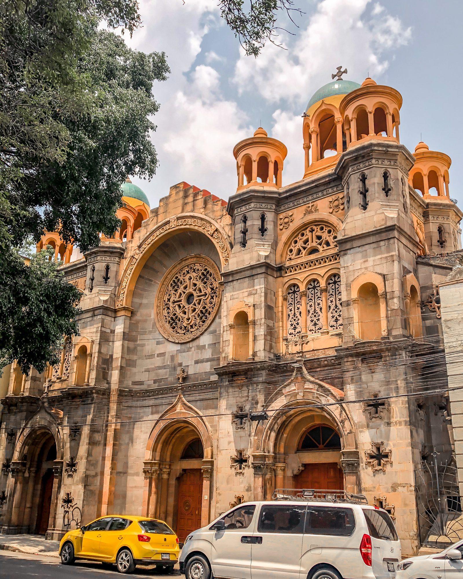 historic hotel in mexico city san rafael