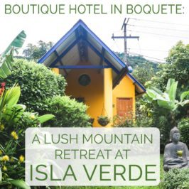 boutique hotel in boquete