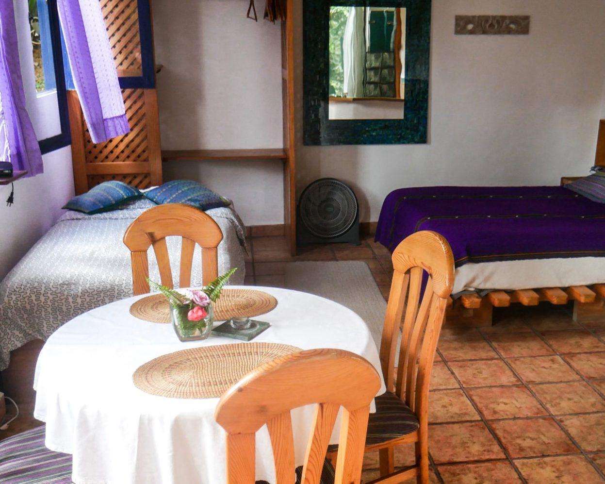 dining area boquete hotel