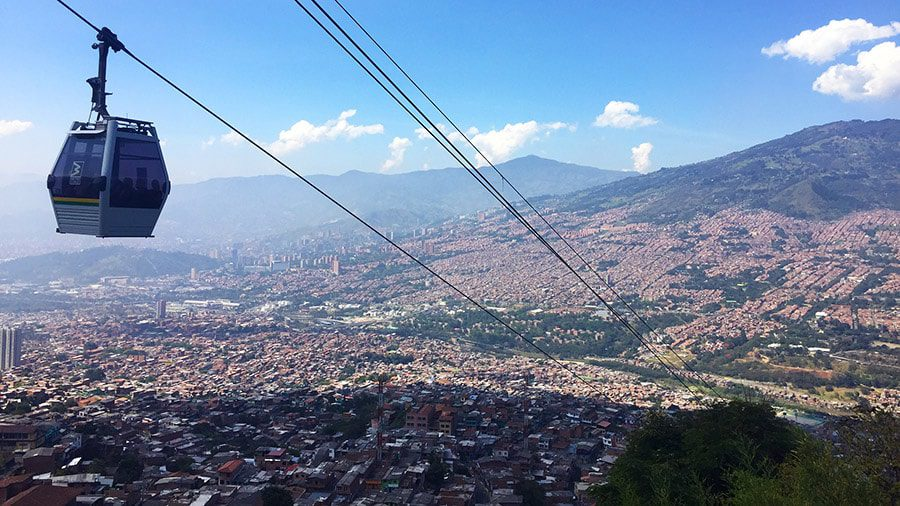 cable car colombia travel latin america