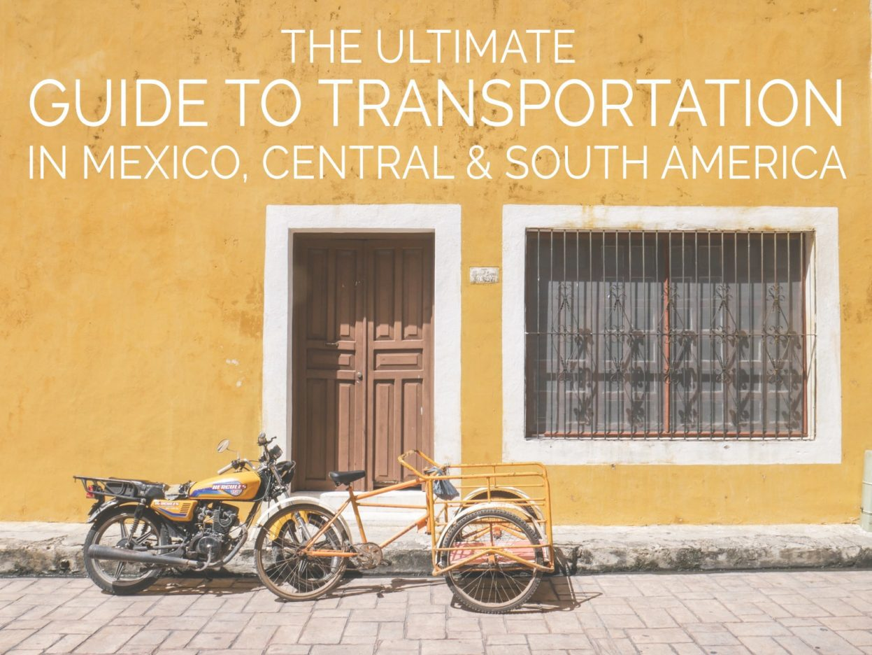 transportation in mexico travel latin america