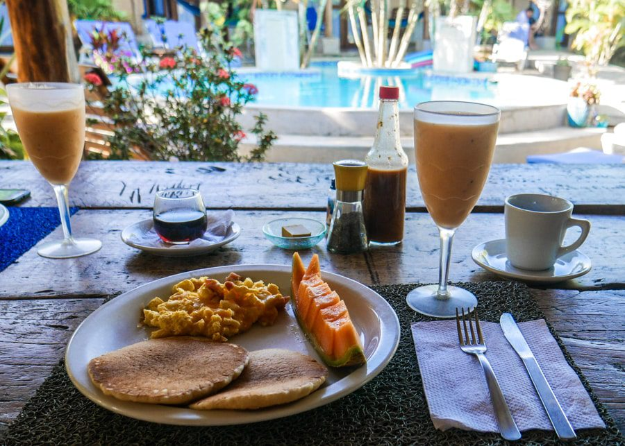 breakfast with a view pedasi panama