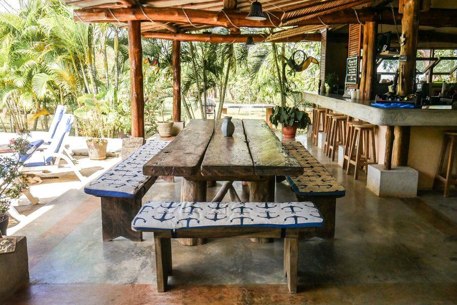 dining area panamas azuero peninsula