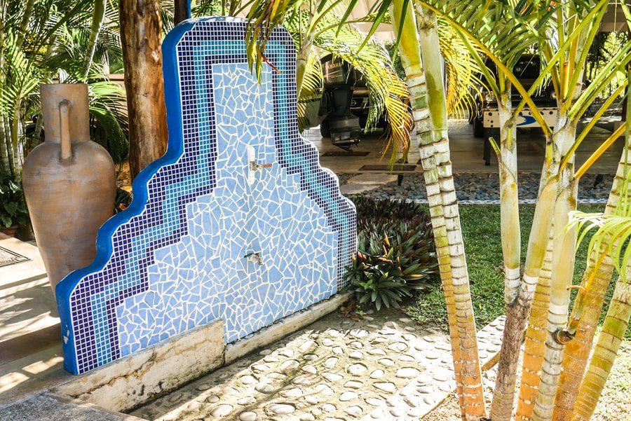 foot shower casa lajagua panamas azuero peninsula