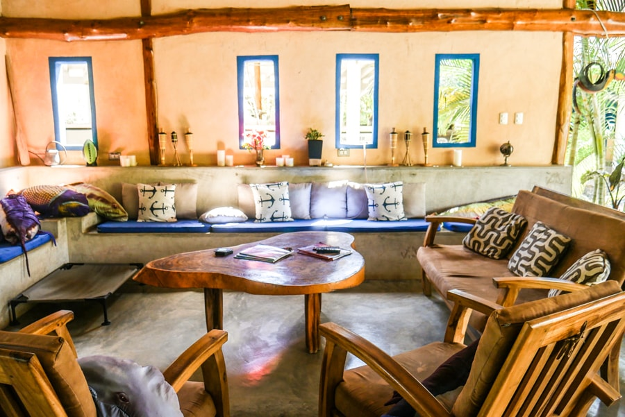 living area casa lajagua