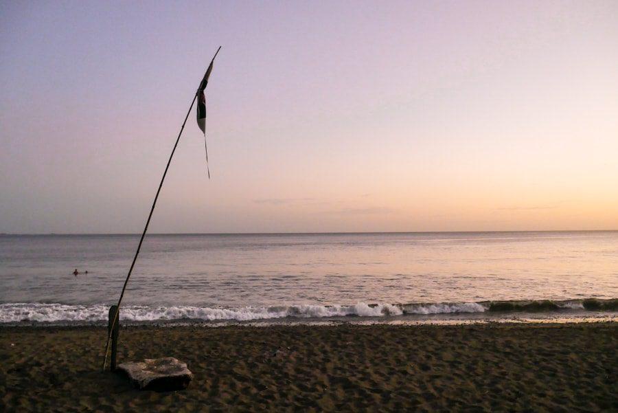 playa venao panama sunset