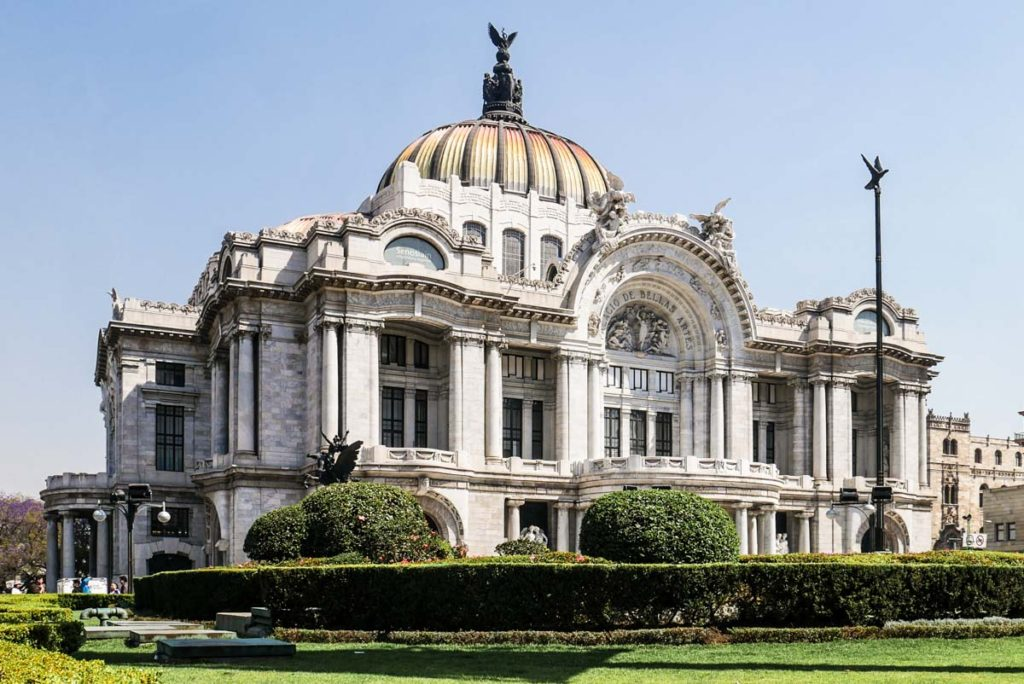 bellas artes mexico city travel