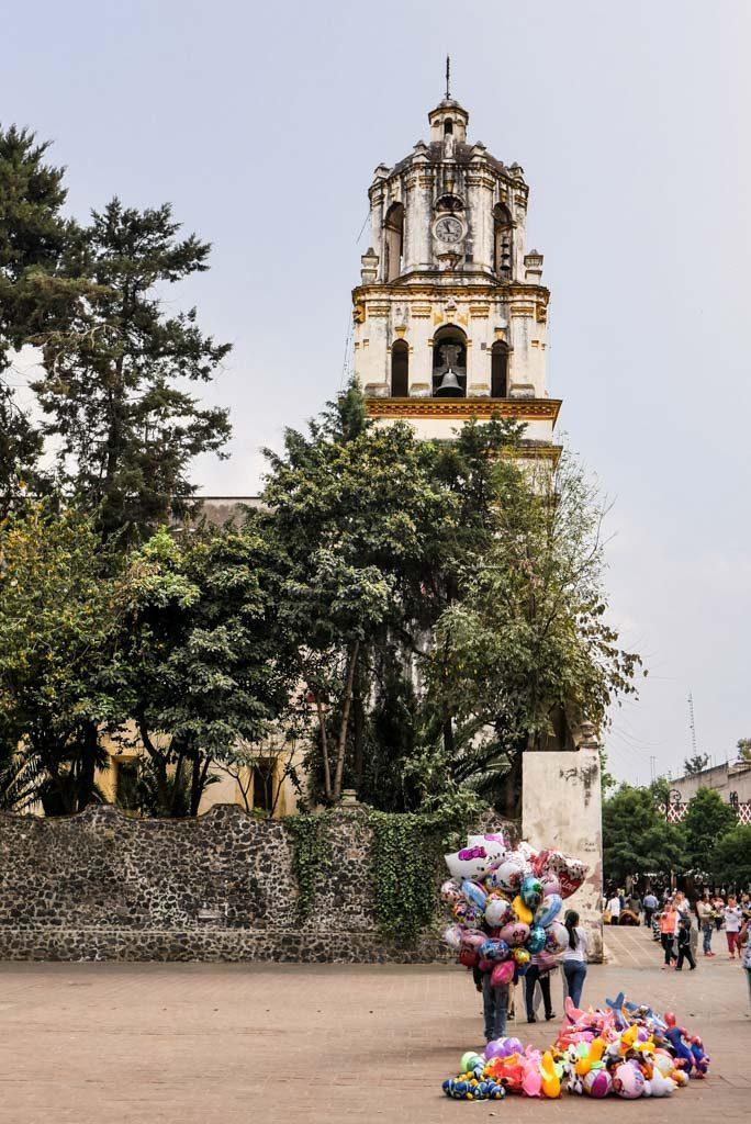 coyoacan church mexico city