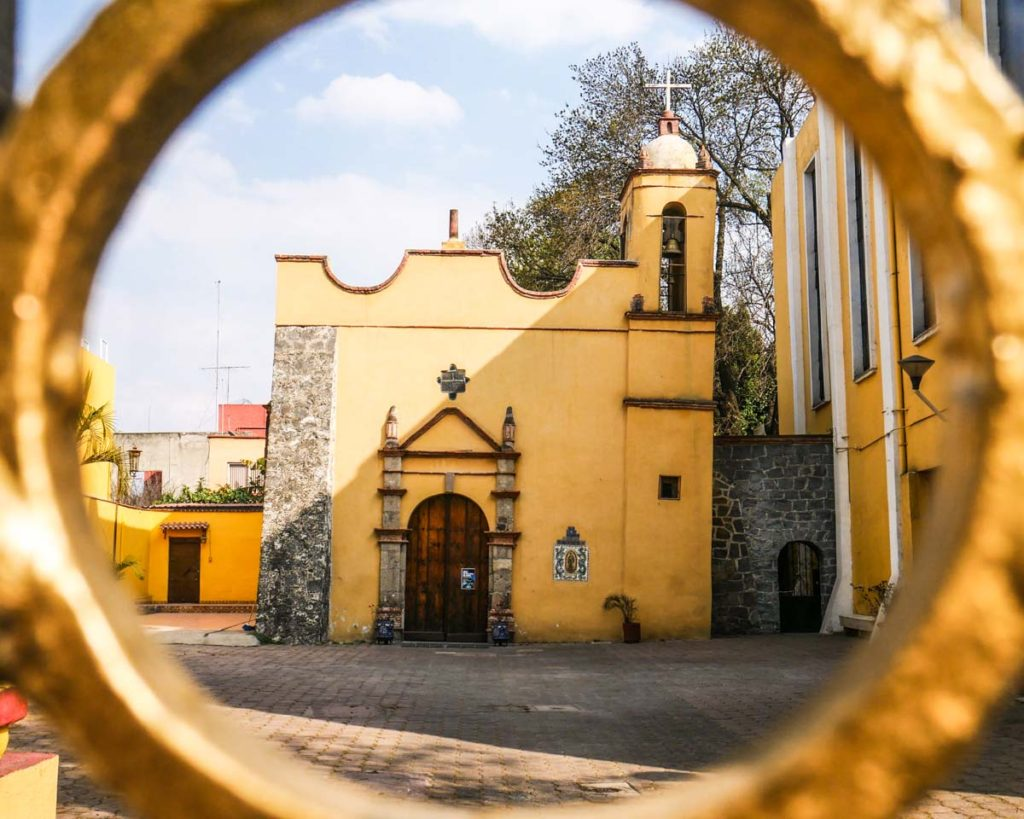 coyoacan church mexico city