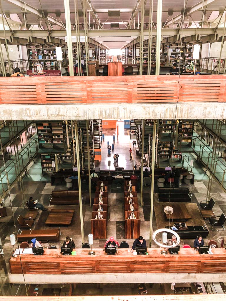 biblioteca vasconcelos instagram mexico city