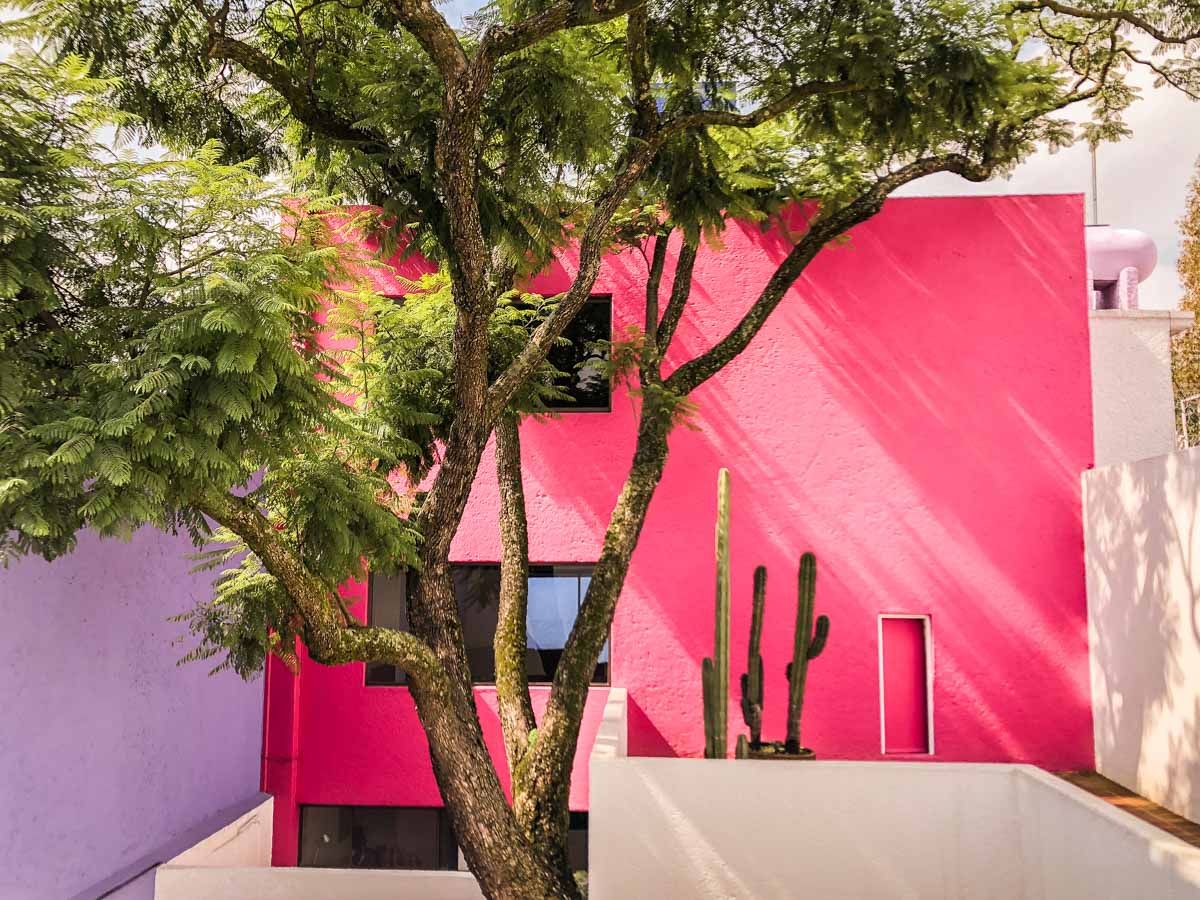 casa gilardi colorful walls mexico city