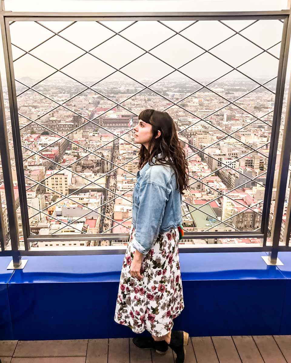 view from torre latinoamerica mexico city instagram photos places