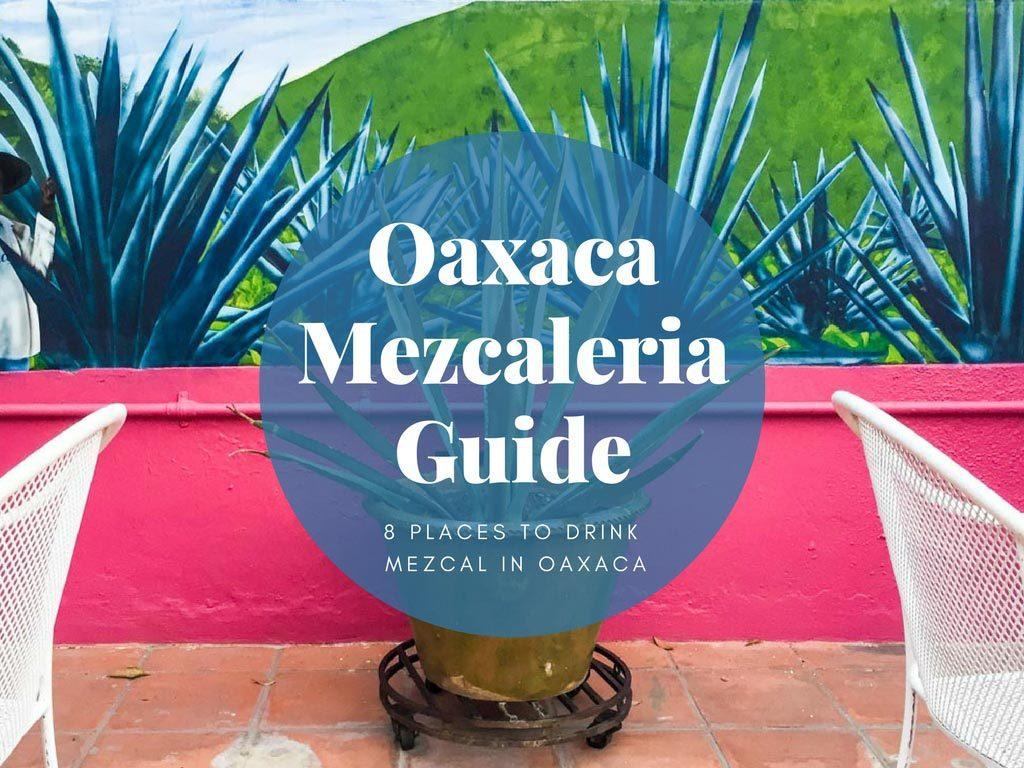 oaxaca mezcaleria guide