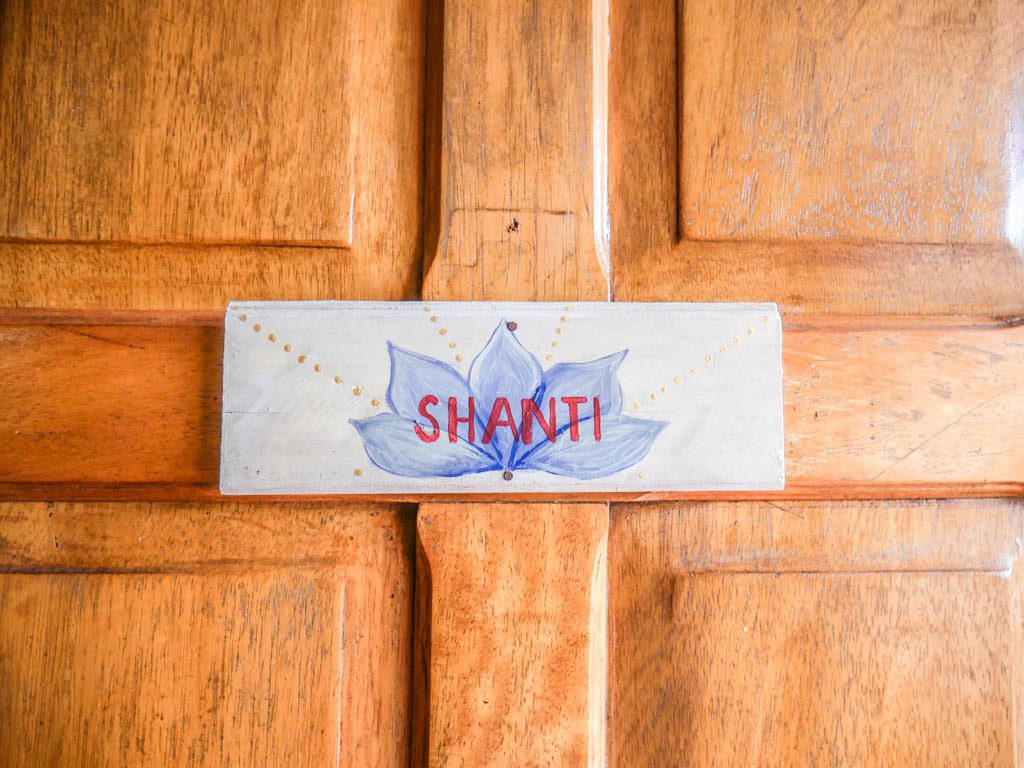 shanti room peace retreat