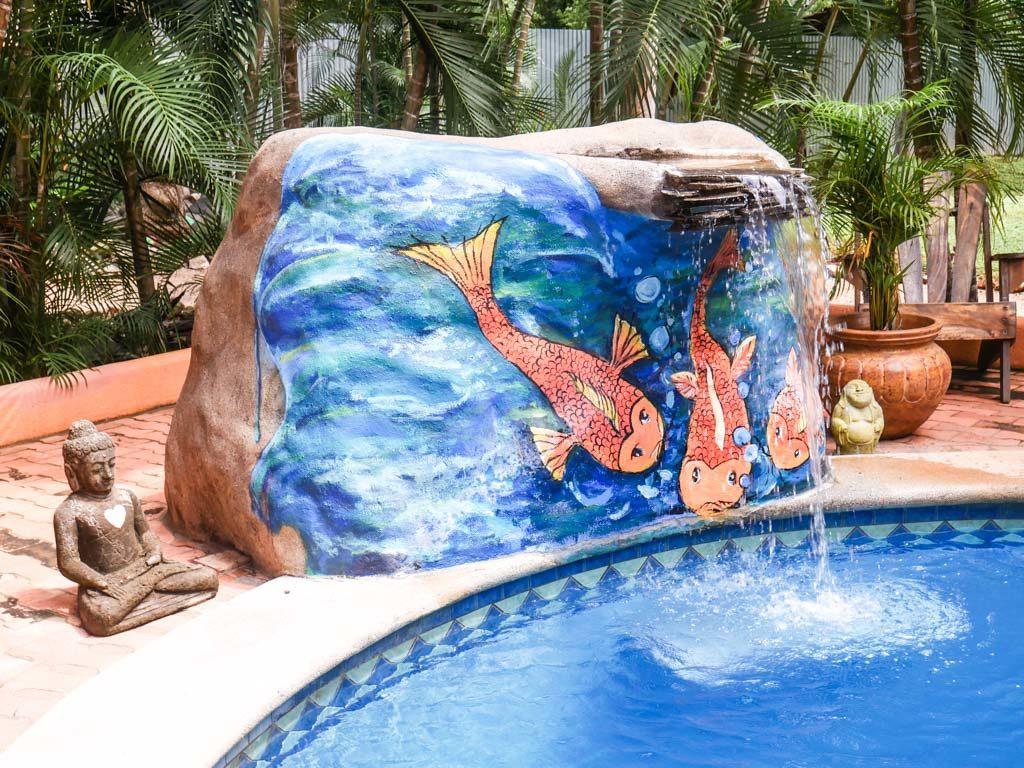 pool peace retreat costa rica