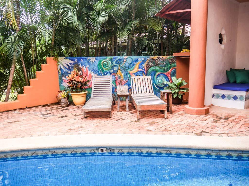 pool area peace retreat costa rica