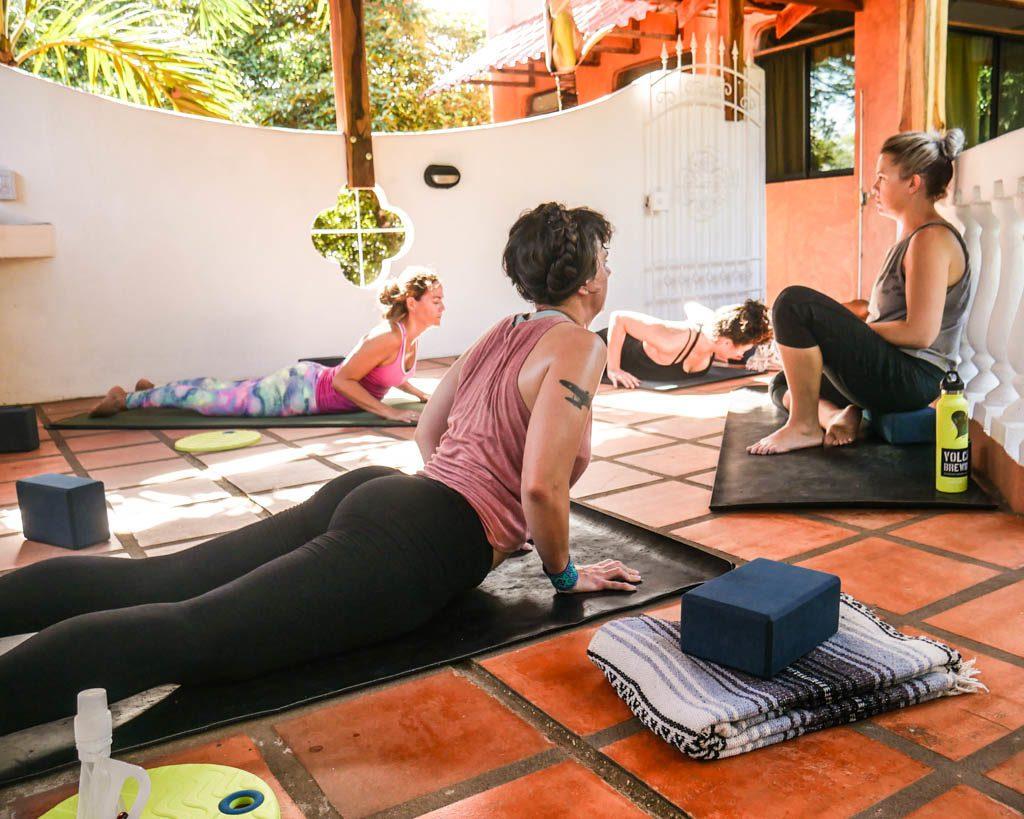 yoga at peace retreat costa rica yoga