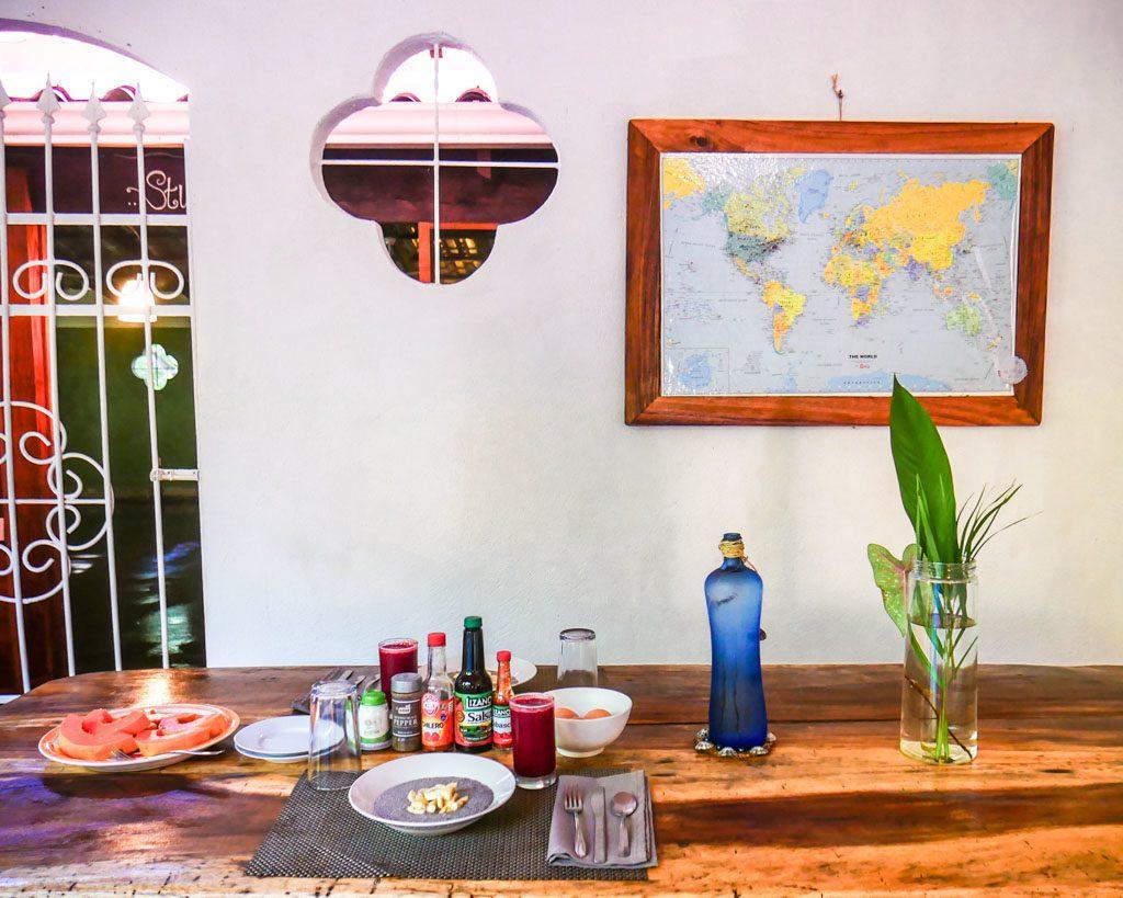 dining room peace retreat