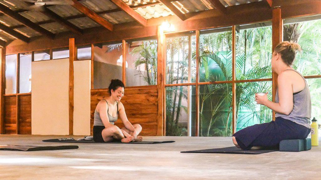 yoga studio costa rica