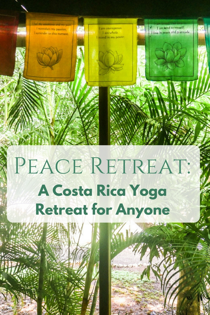 costa rica yoga retreat pin