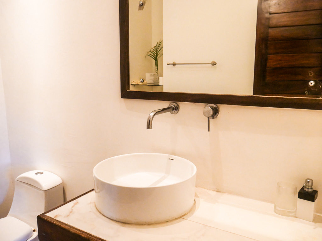 sink bathroom santa teresa hotel costa rica