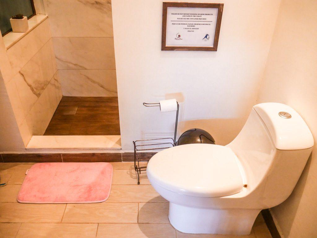 bathroom nautilus santa teresa