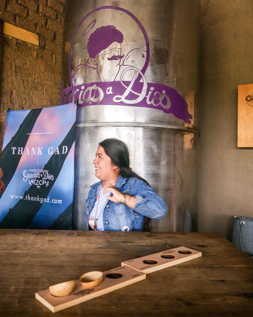 oaxaca mezcal tour tasting