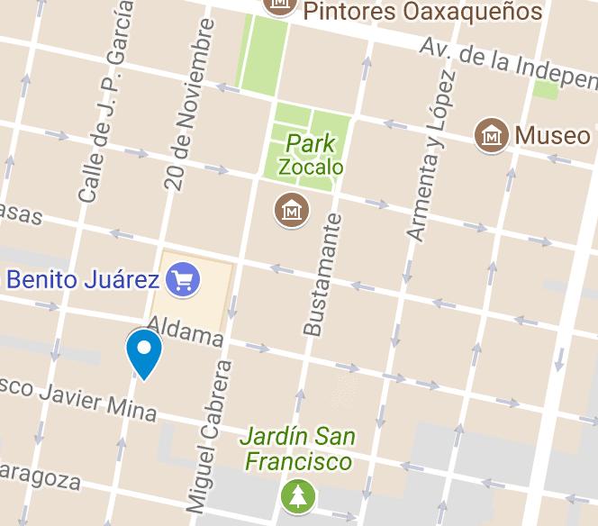 tejate map oaxaca