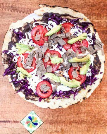milpa mesa oaxaca food tour tlayuda