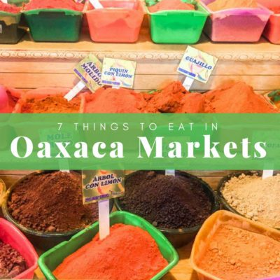 oaxaca markets what to eat