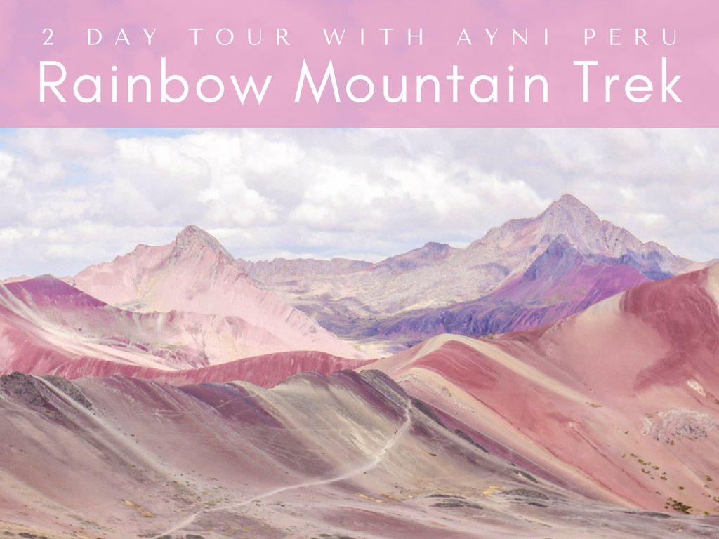 rainbow mountain trek cover
