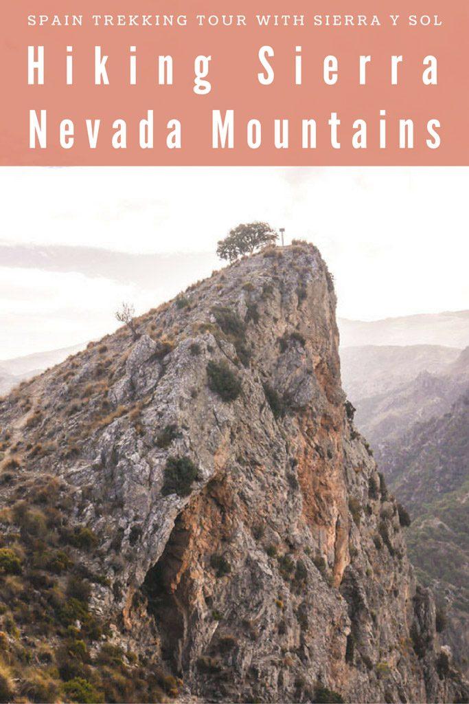 hiking sierra nevada mountains