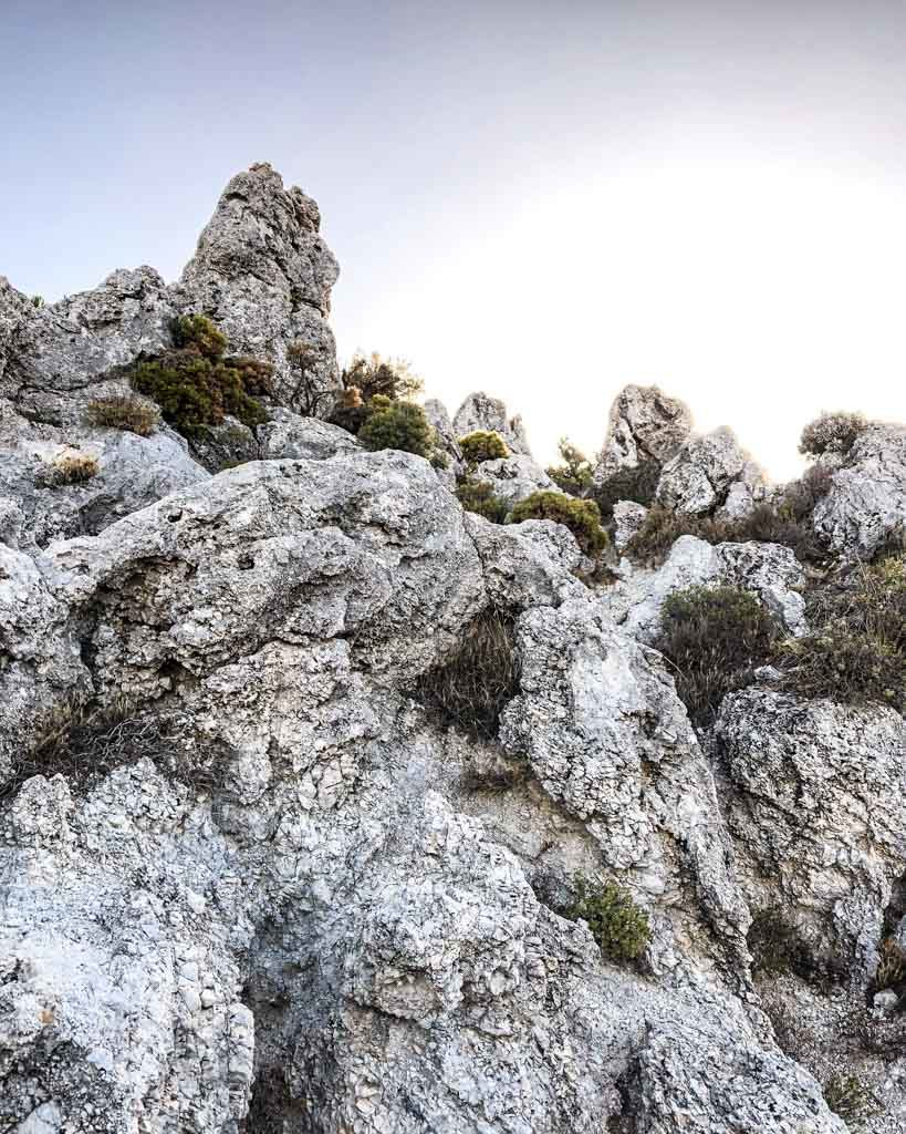 rock formations haza larguilla