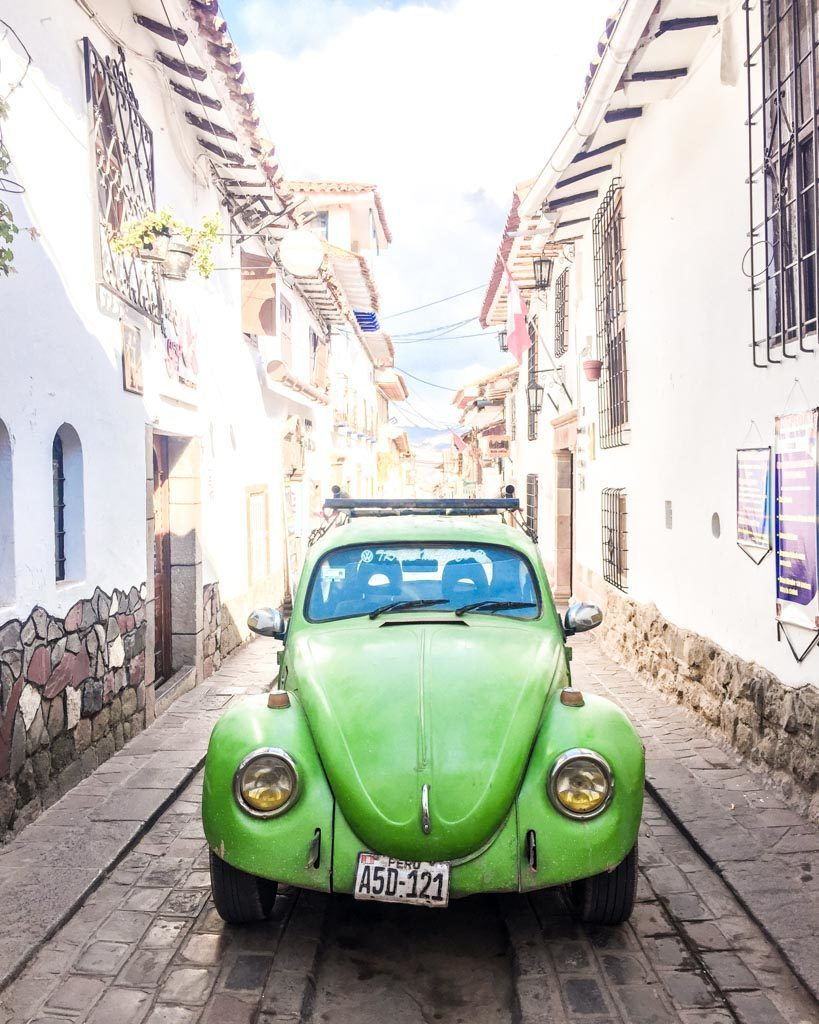 cute streets photos of cusco san blas