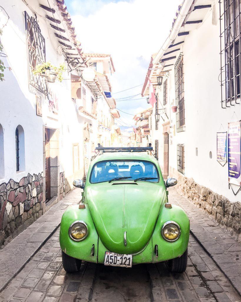 cute streets photos of cusco san blas