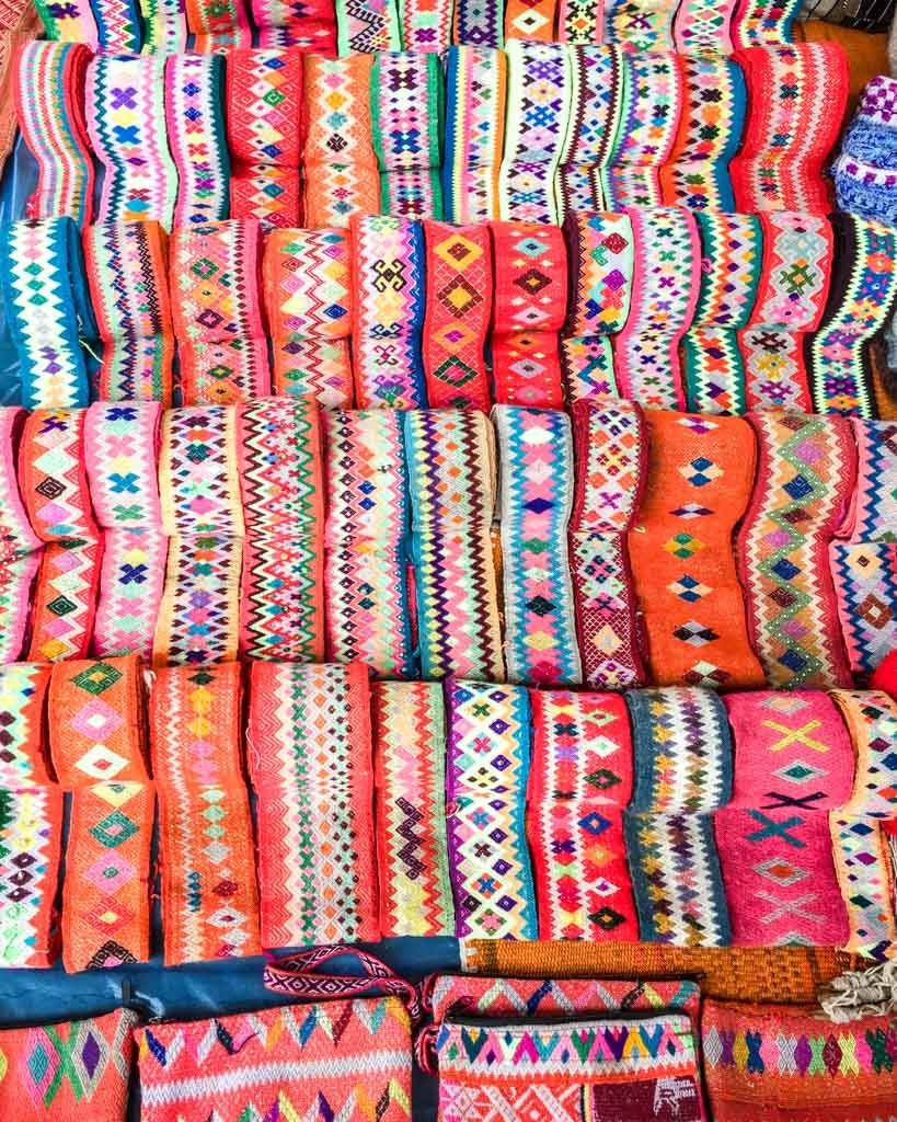 sunday chinchero market photos of cusco