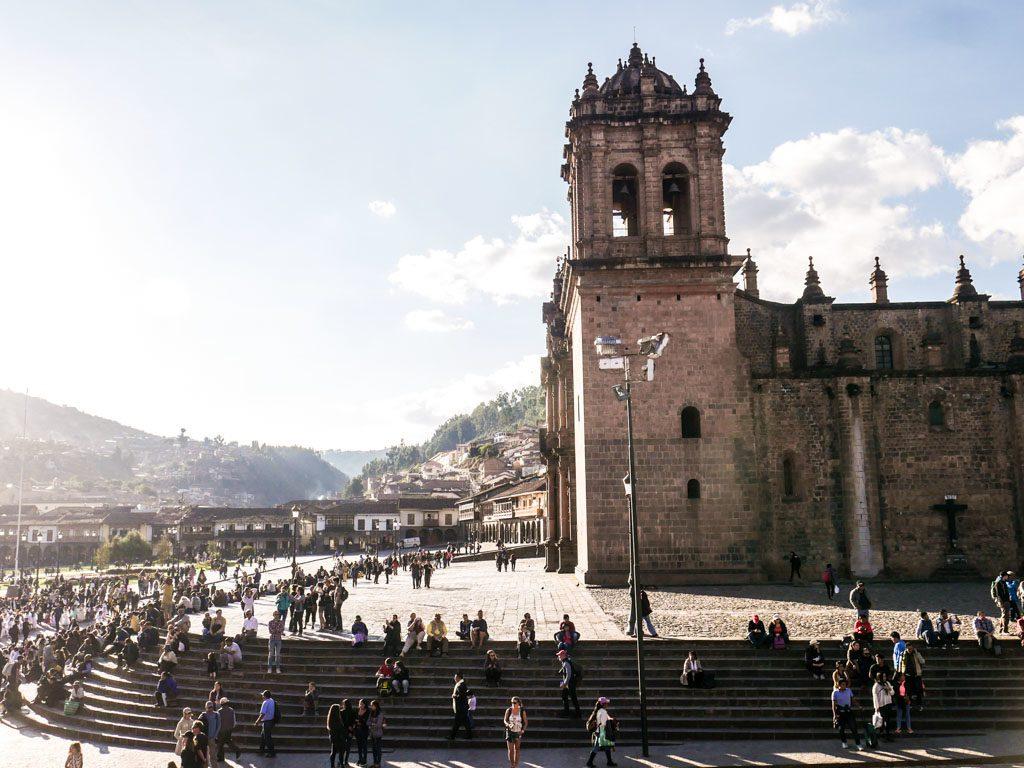 main square cusco plaza de las armas