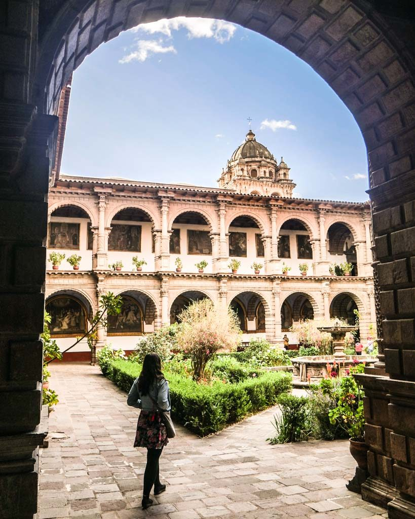 photos of cusco convent la merced