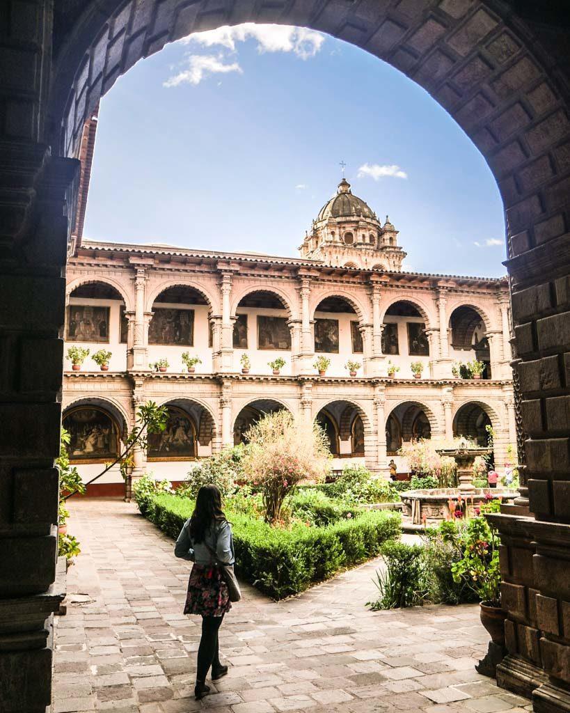 photos of cusco convent la merced