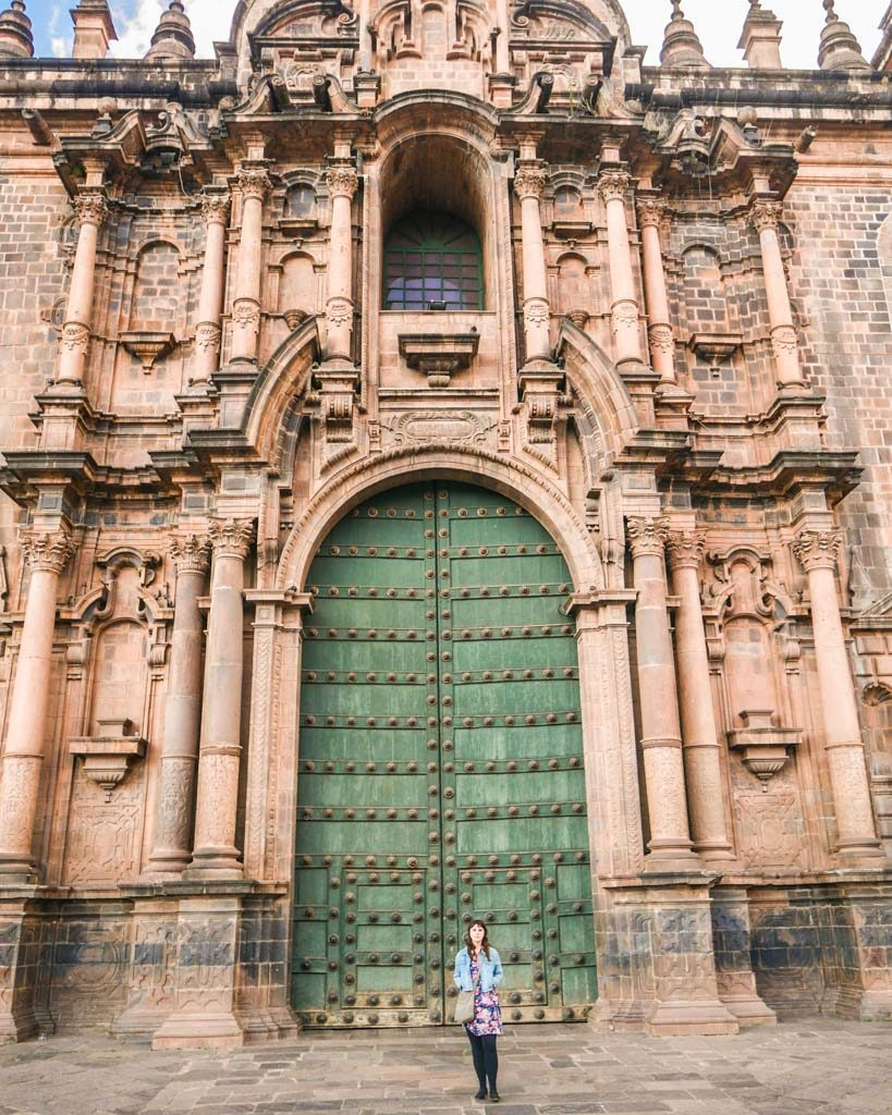 cathedral door what to do in cusco