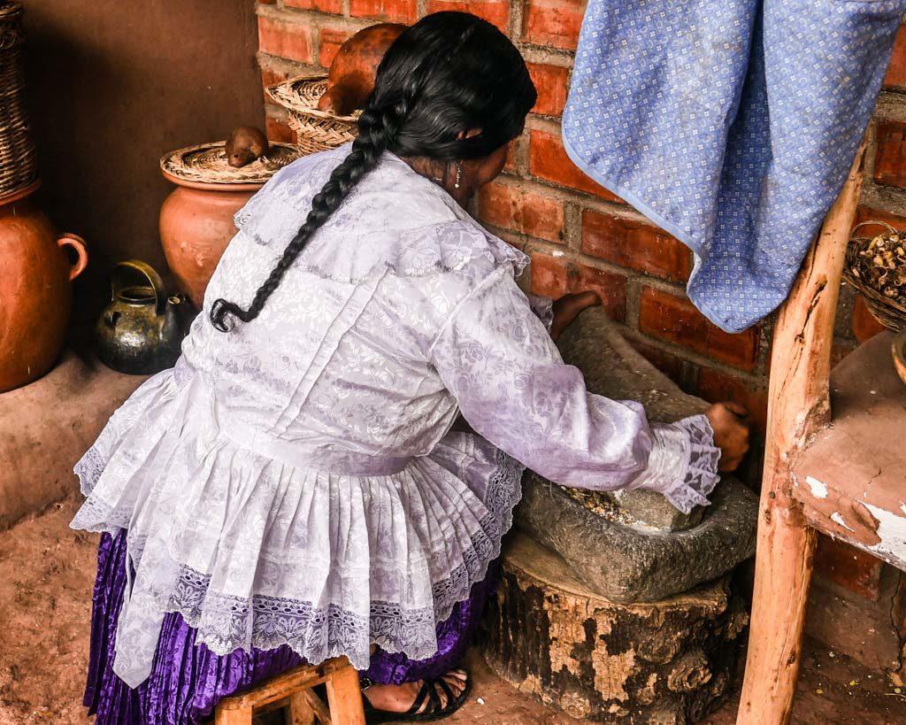 chicha making peru