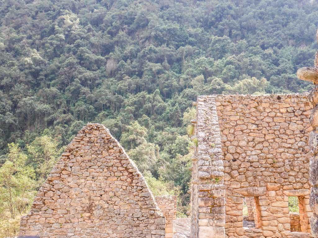 ruin inca trail hike