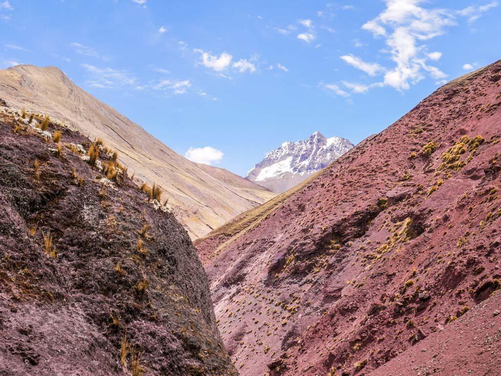 ausangate mountain range