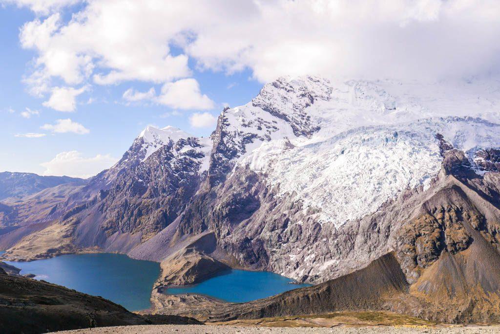 ausangate mountain lakes
