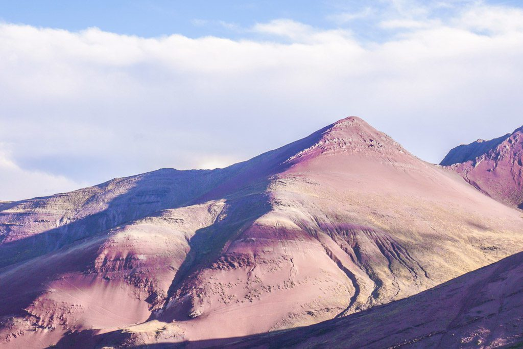 rainbow mountain ausangate range