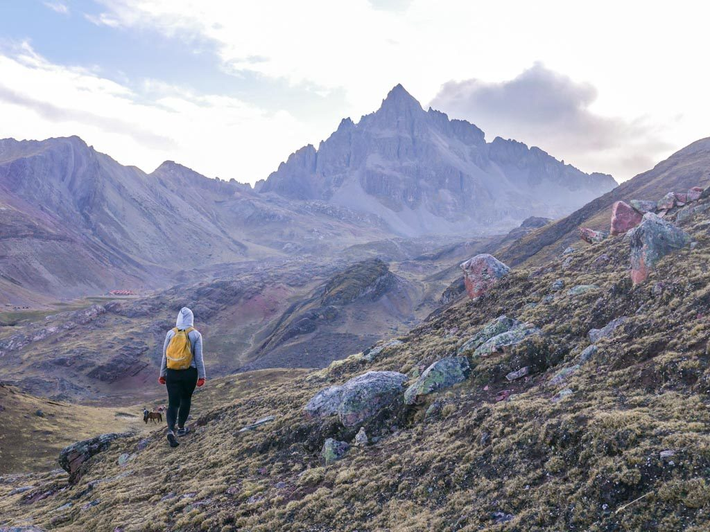 ausangate mountains hike