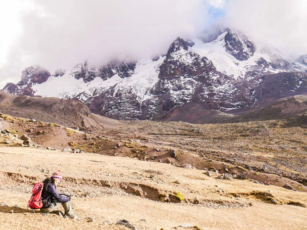 hiking ayni peru